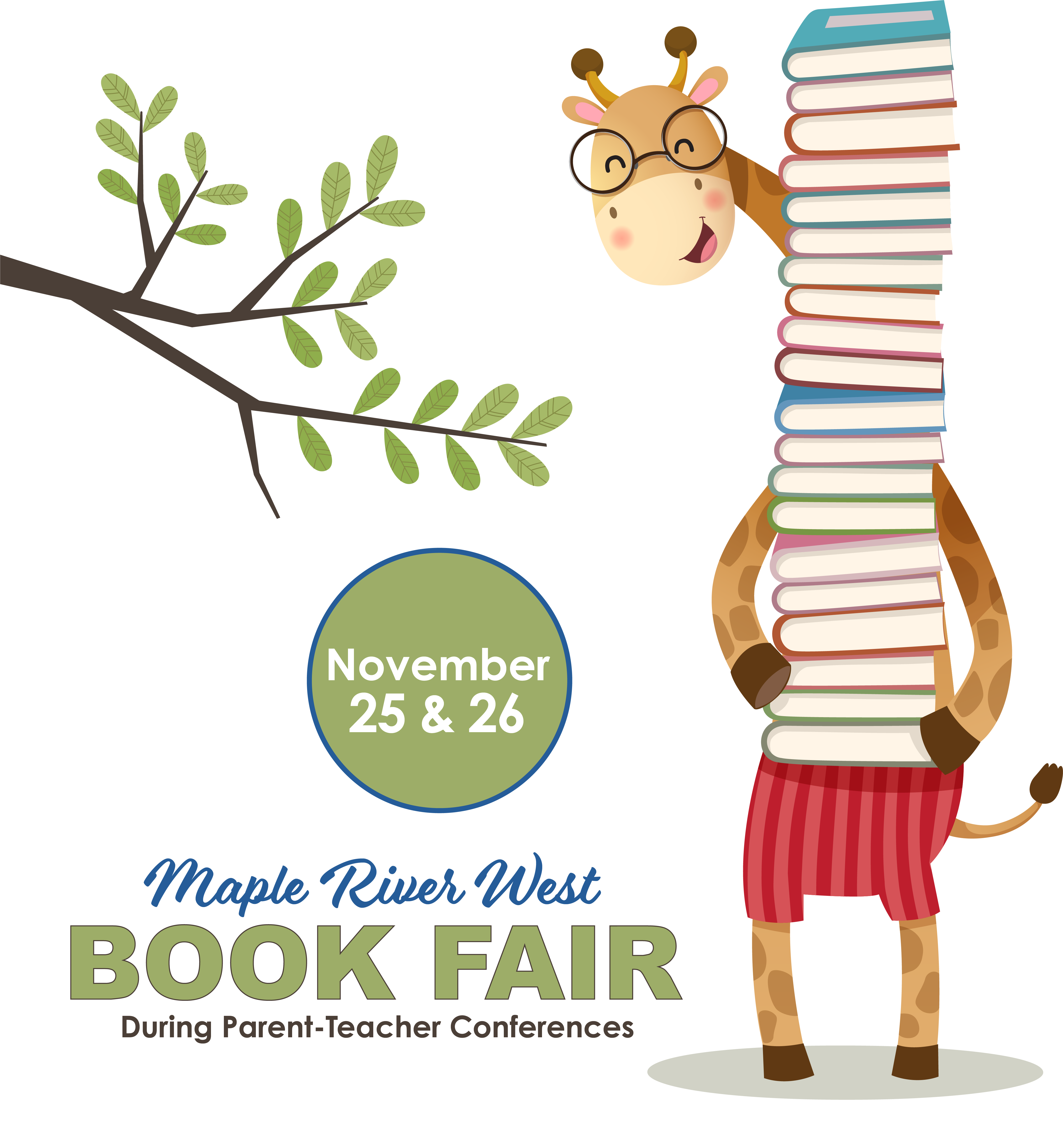 Maple River West Elementary Book Fair