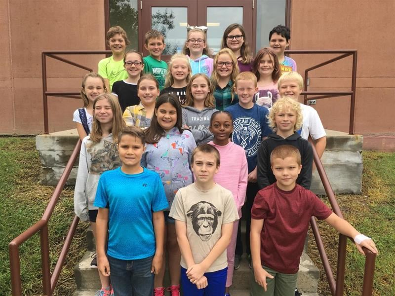 Mr. Reuter's 5th grade class 2018-2019 the FIRST DAY!