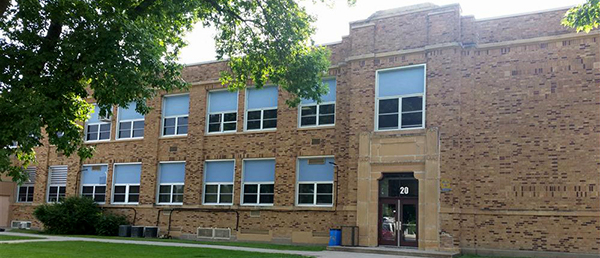 Exterior photo of Maple River High School