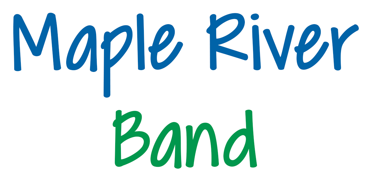 Maple River Band Logo for Rebecca Carpenter's Band Class